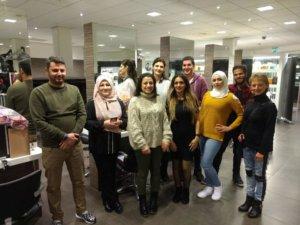 Vluchtelingen met een kappersdroom